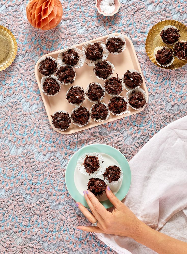 Recipe: Toasted Coconut & Almond Chocolate Clusters — Recipes from The Kitchn #recipes #food #kitchen