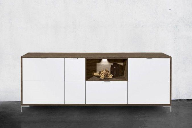 Polo tv-bord/skænk i valnød - Polo tv-bord/skænk i valnød - Tv-borde - Opbevaring