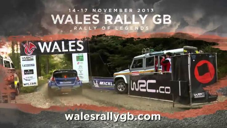 Wales Rally GB 1 Min English