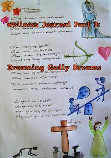 A Pretty Talent Blog: Wellness Journal 3: Dreaming Godly Dreams For Your Life