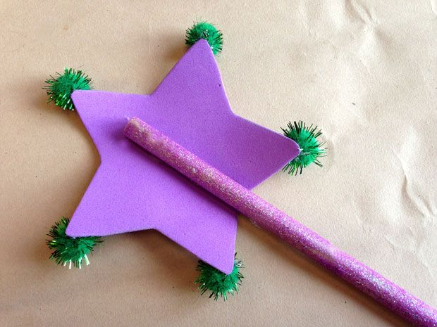 Kids craft make princess presto s wand crafts kid and for Princess wand craft kit