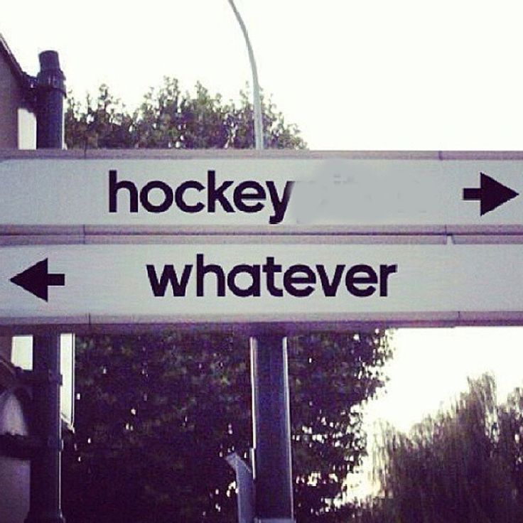 Anything that doesn't have to do with hockey, is just whatever...