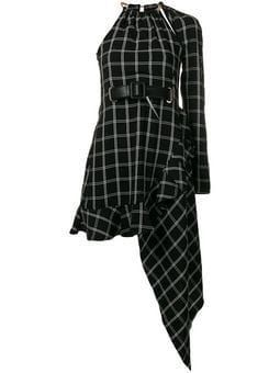 asymmetrical plaid dress #asymmetrical #dress #plaid