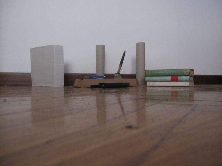cartoni e libri - architetture simulate