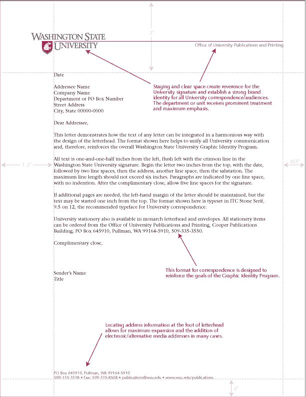 business letter format example letterhead therefore the templates sample