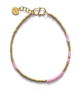 ANNI LU ASYM bracelet / pink