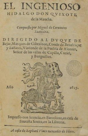 Don Quijote de la Mancha :: Llibres impresos, Segles XVI-XVIII (Biblioteca de Catalunya)