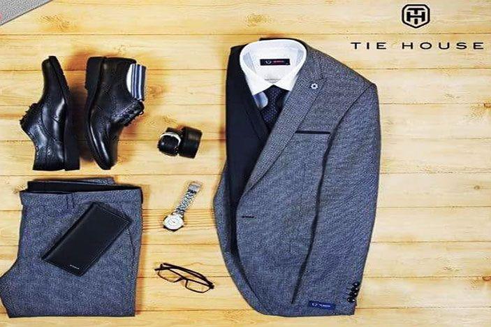 وفرها كوم حصريا خصم 50 على ملابس تاي هاوس الرجالي الأنيقة لفترة محدودة Fashion Blazer Jackets