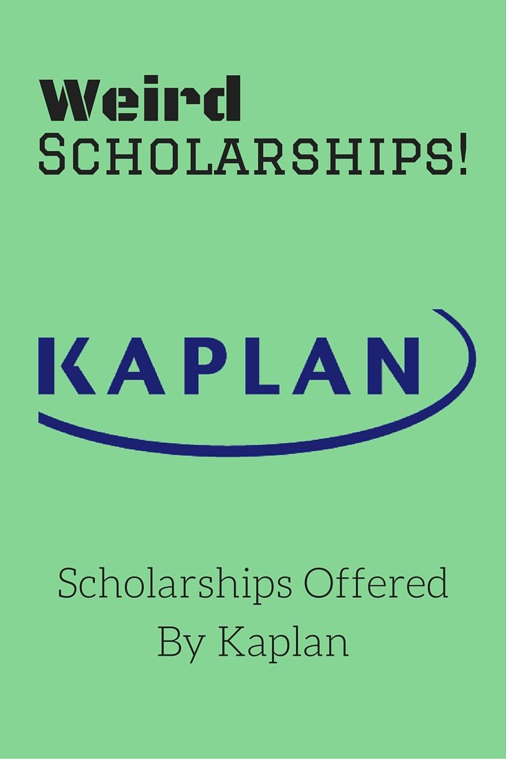 Kaplan offers scholarships for their own unique University!