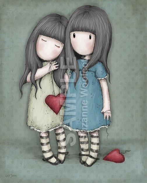 cartoons and hearts ....