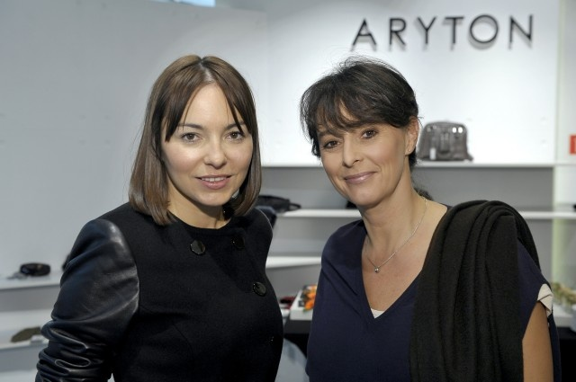 Patrycja Cierocka i Anna Korcz w salonie #Aryton / zdjęcie: AKPA