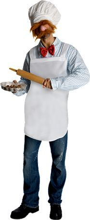 Swedish Chef Muppets Costume | Adult Mens Muppet Costumes