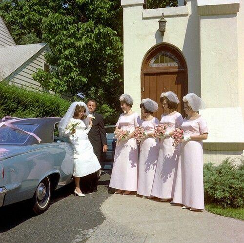 Vintage Color Slide-Wedding 1960s Via Jeff4653 Flickr.com