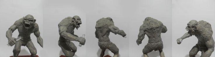 prototipo mandrilio   thundercats   #escultura #mandrilio #arcilla  #gris #modelado #modeling #sculpting #reptilio #thundercats #modeling #splad #prototyping