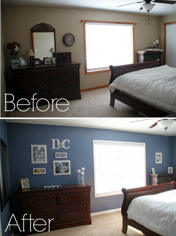 Budget Master Bedroom Makeover Cheap Bedroom Makeover Bedroom