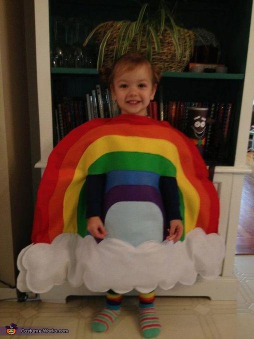 Rainbow - Halloween Costume Contest via @costume_works