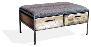 Red Round Ottoman Footstools & Ottomans: Find Storage Ottoman and ...