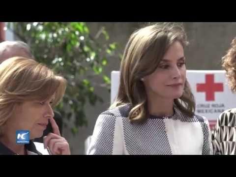 Reina Letizia de España se solidariza con México tras terremotos en sept...