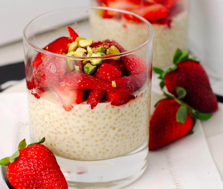 Gezond ontbijt( griekse yoghurt eruit,kokosmelk erin)