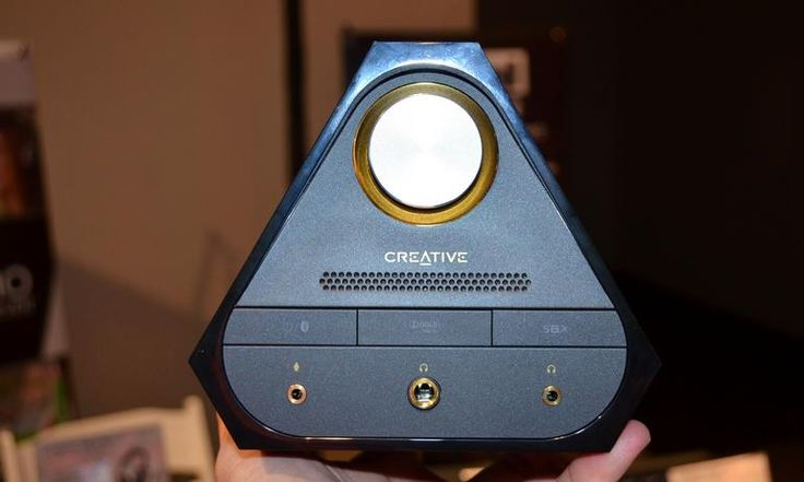 Creative Technology's Sound Blaster X7 is designed to be a powerful amplifier in a compact box. The device is slated to cost $400.