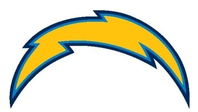 San Diego Charger Temporary Tattoo Featuring The Vibrant
