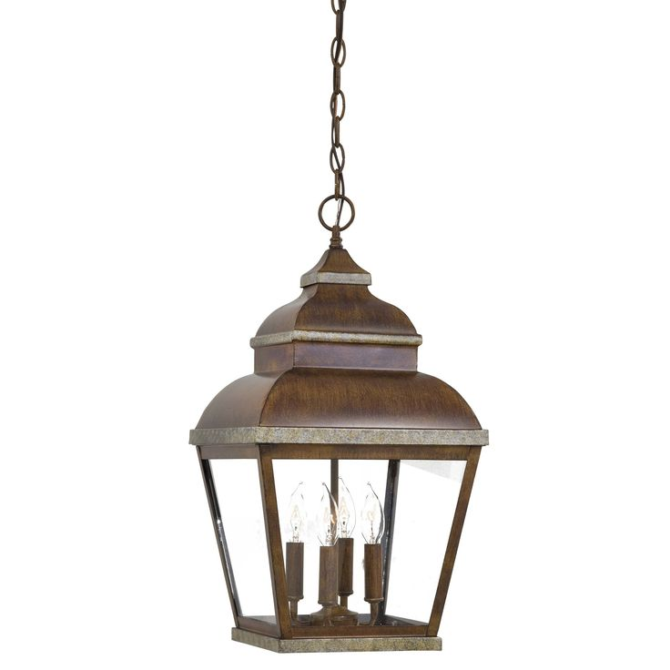 Mossoro 4-Light Outdoor Hanging Lantern
