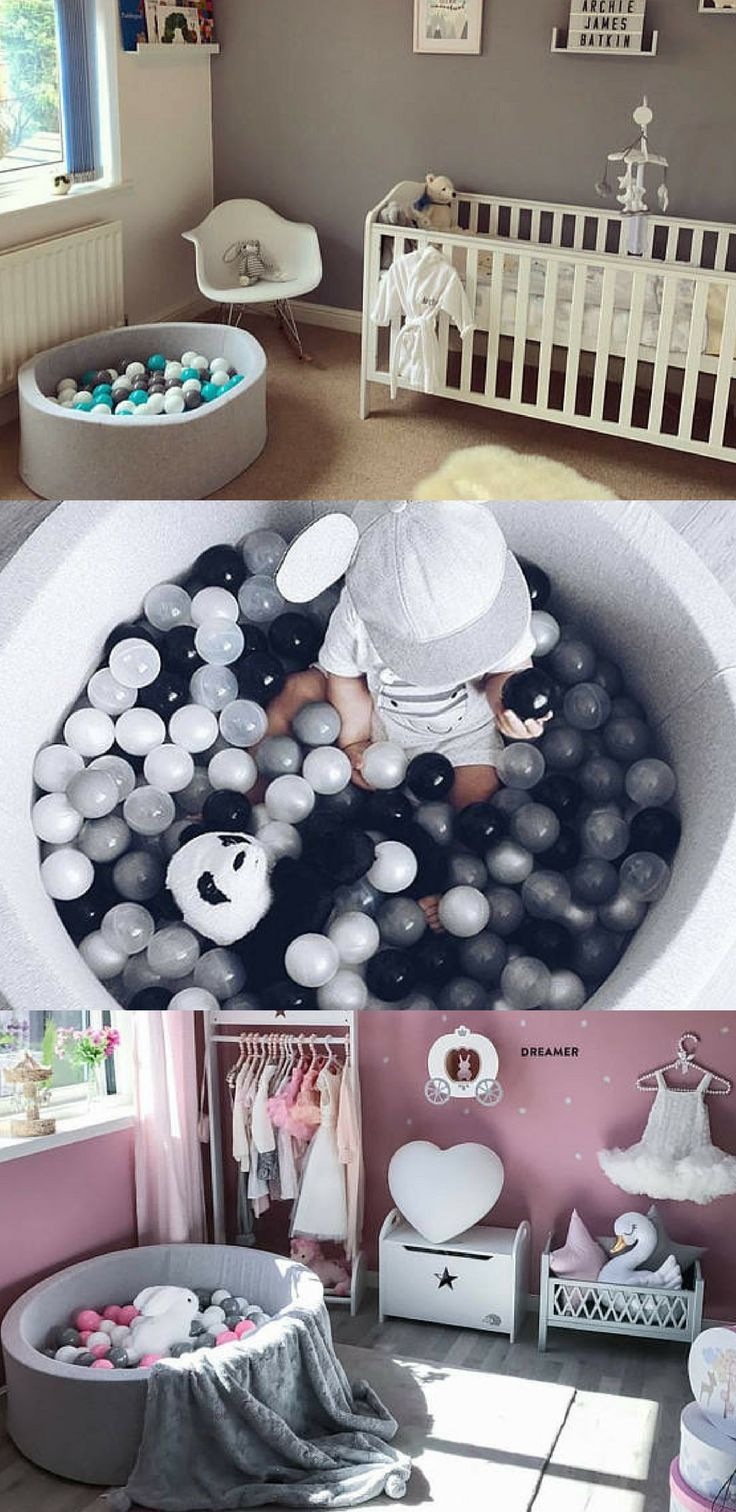 This is a perfect little ball pit for the baby in the house! #affiliate #baby