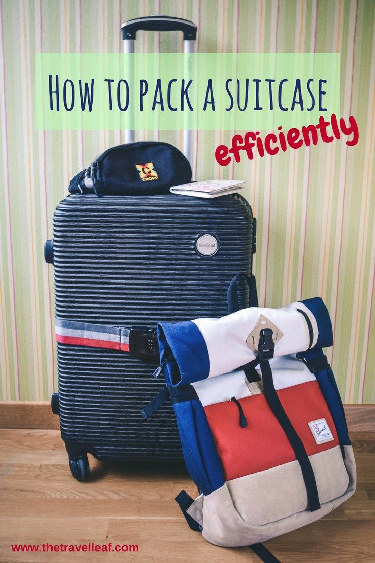 How to pack a suitcase efficiently. The most effective packing methods and the best travel compression bags
