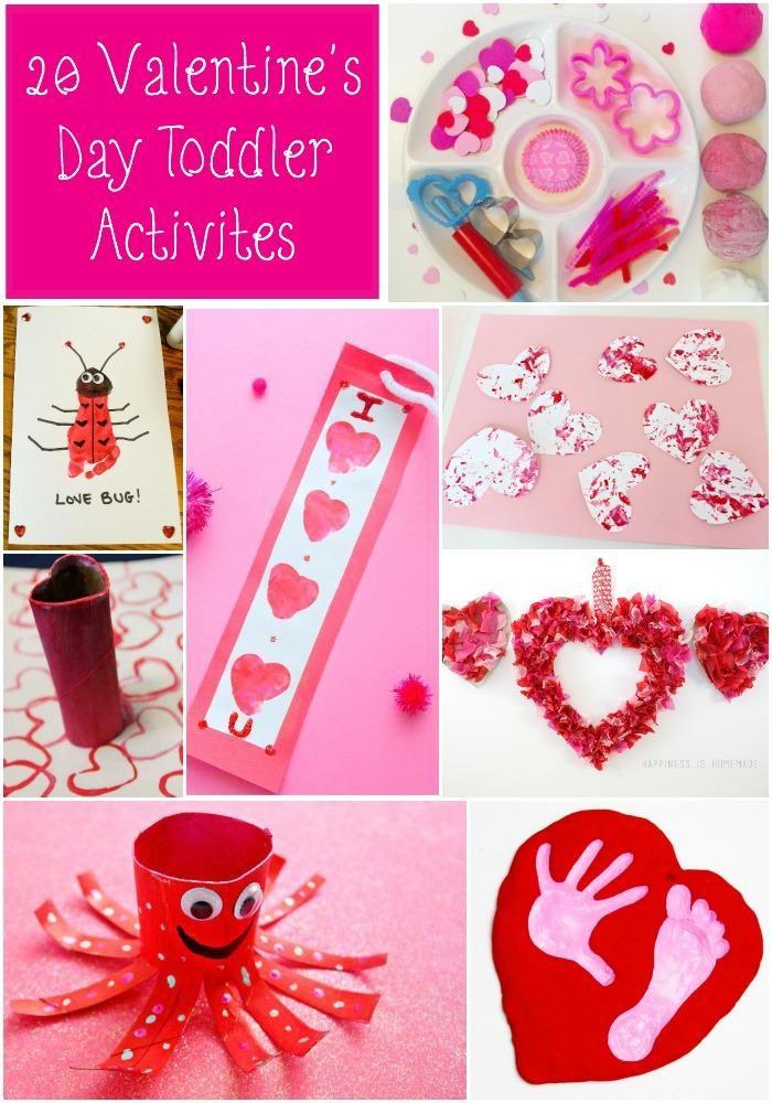 20 Valentine's Day Toddler Activities