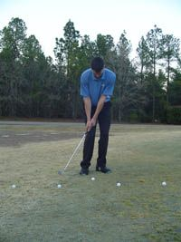 Golf Tips For Chipping Distance Control