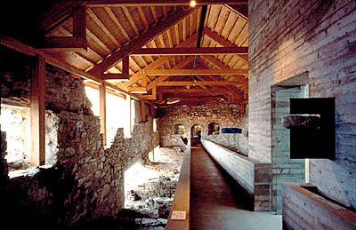 Sverre Fehn - The Hedmark Cathedral Museum, Hamar, Norway, 1979