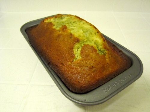 Meyer Lemon and Matcha Marble Pound Cake | Lemony Snicket | Pinterest