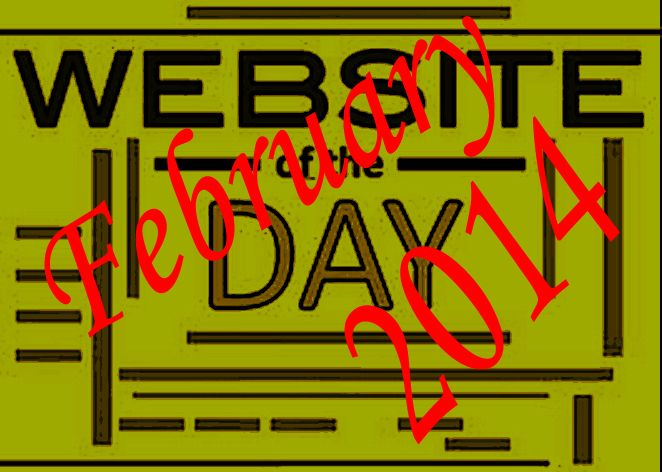 Websites of the month February.