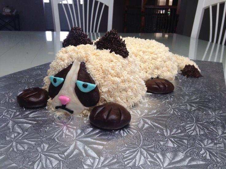 Grumpy Cat Cake Pan