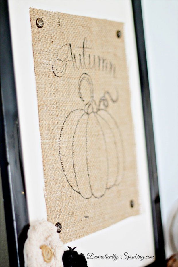 Printing on Burlap Tutorial