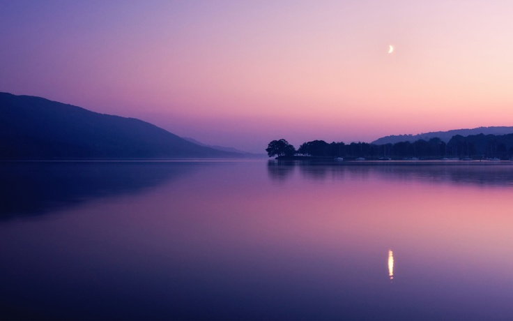 Coniston Water, Lake District, UK