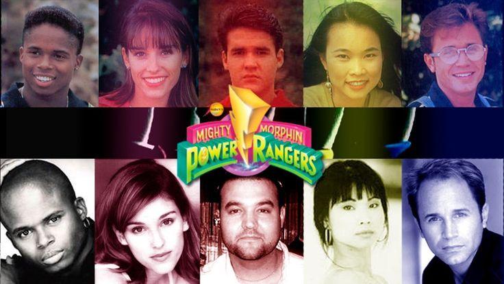 Mira como han cambiado los trajes de los Power Rangers
