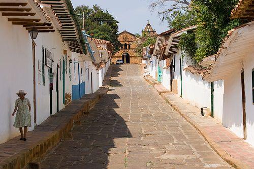 Barichara Calle real