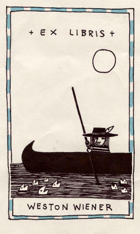 + Ex Libris + Weston Wiener                                                                                                                                                      More
