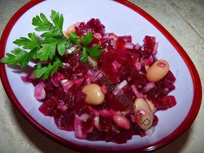 www.przepismamy.pl: Buraczki z fasolą