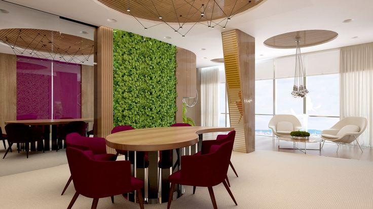 Первый эко-офис Сбербанка России - дизайн-проект