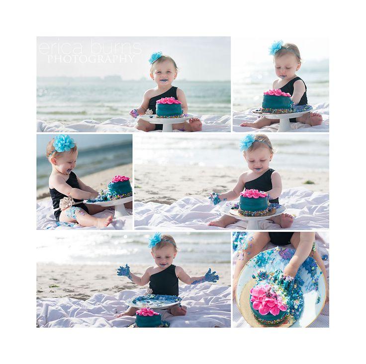 Best 25+ Beach Cake Smash Ideas On Pinterest