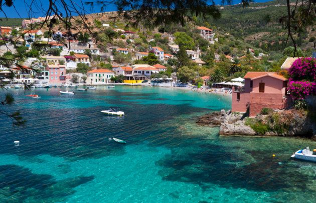 """Pretty little Kefalonia, in the Ionian Sea, was largely off tourist's radar screens until the release of the ultra-romantic film """"Captain Corelli's Mandolin"""", starring Nicolas Cage and Penelope Cruz.  It is old-fashioned, unspoiled Greek island, rich with romatic vistas.  Rent a villa high up in the hills to catch the cooling breezes and use a rental car to explore the islands winding roads.  True romantics rent speed boats and cruise to isolated beaches."""