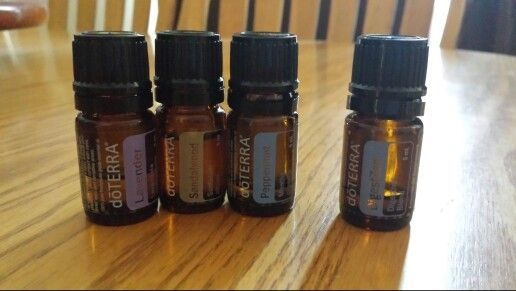 heartburn remedy (also for indigestion): 1 T. Carrier oil, 2 drops peppermint, 2 drops lavendar and 3 drops sandlewood - rub on chest bone. 1 T. Carrier oil, 2 drops peppermint, 2 drops digestzen - rub on belly. I did both since I had both heartburn and indigestion and it was gone in 2 minutes! by wendi