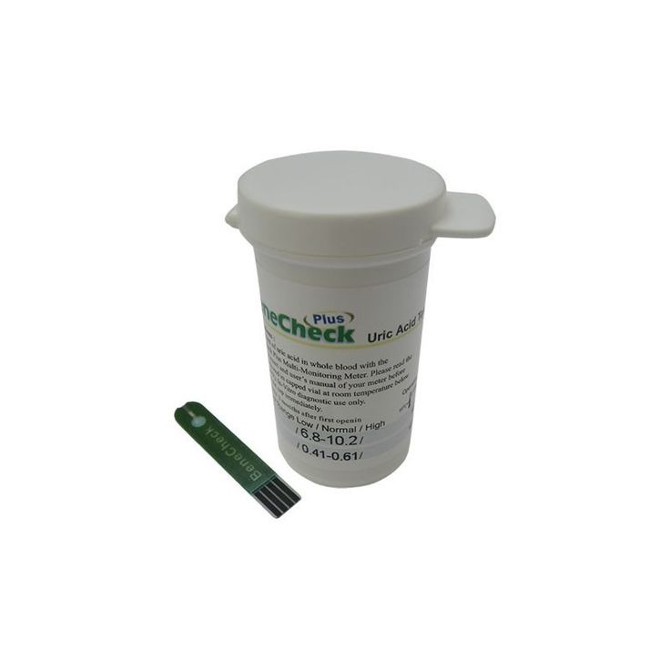 Benecheck Uric (Gout) Testing Strips (25 Test Pack)