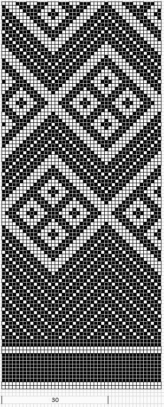 ...square and triangle ! This pattern is so beautiful!