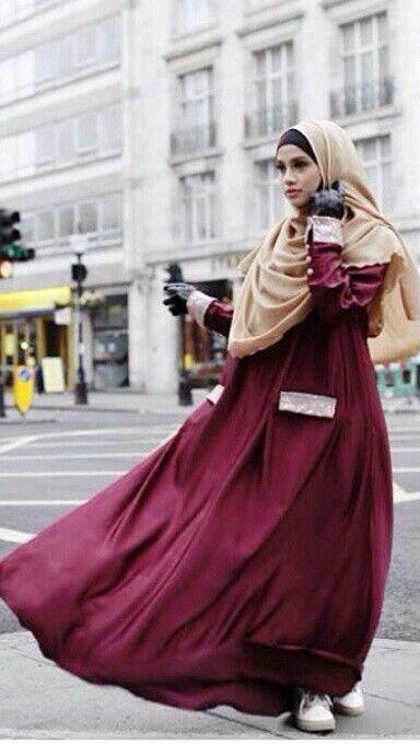 Hijab & dress @ellezada