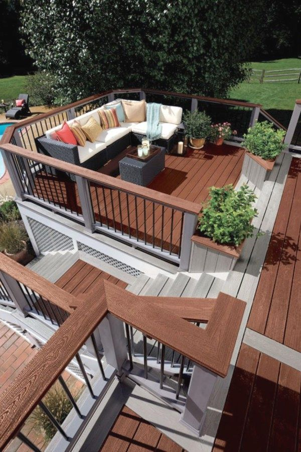 12 Lovely Diy Deck Plans For You To Try For Your Home Deck Design Ideas Design No 12478 Dec Ideas Deck Deck Designs Backyard Deck Design Decks Backyard