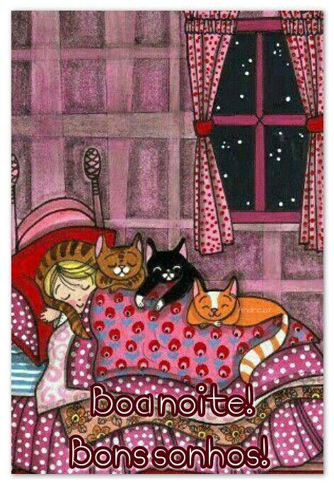 Boa noite! Bons sonhos! ♡