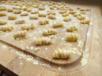 Gnocchetti con farina di ceci
